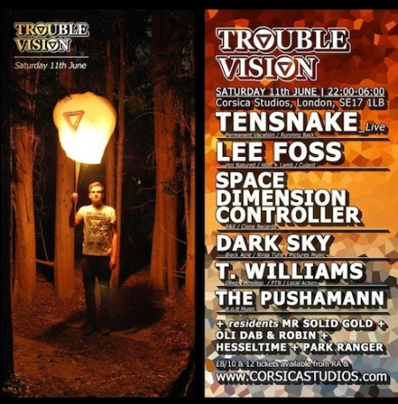 Trouble Vision Tensnake poster