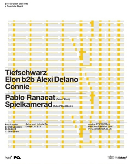 Select*Elect Tiefschwarz Flyer
