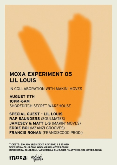 Moxa Experiment 05 with Lil' Louis